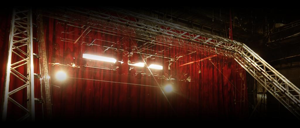 Folienaufbau im Pfefferberg Theater
